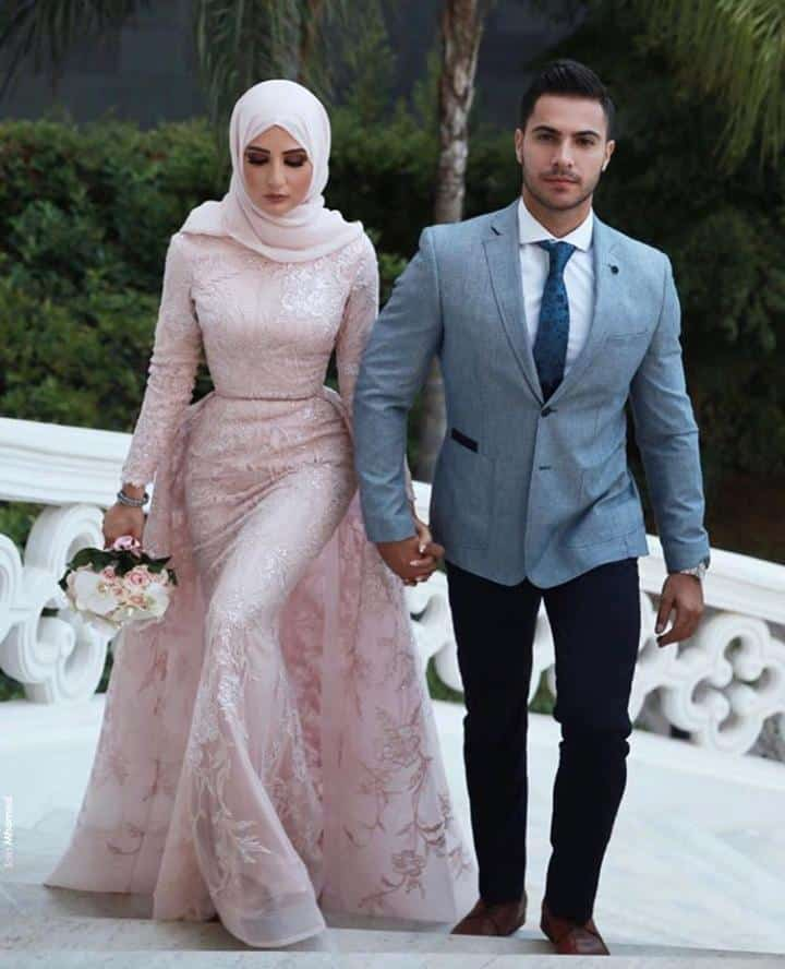Bridal Hijabs styles (12)