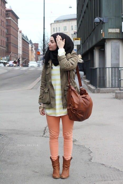 14 popular hijab street style fashion ideas this season