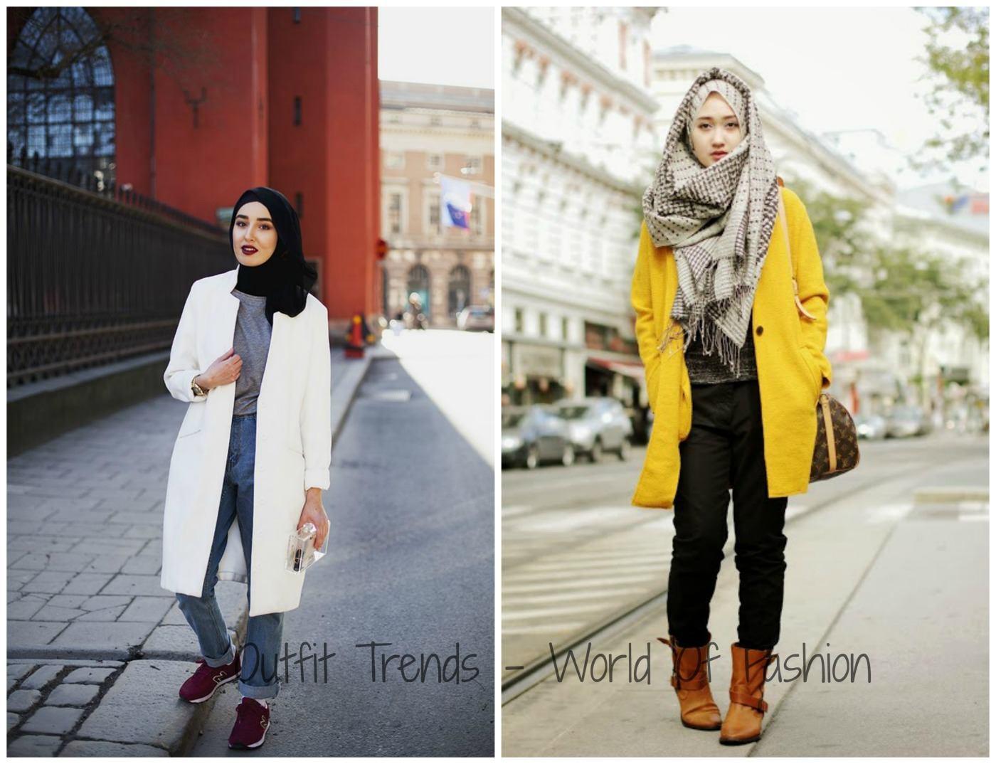 Winter Hijab Street Style