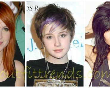 cute hairstyles for round face girls