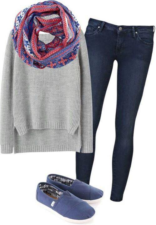 786729c2d Cute Winter Outfits Teenage Girls-17 Hot Winter Fashion Ideas
