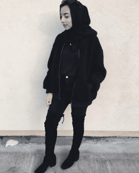 winter hijab outfits
