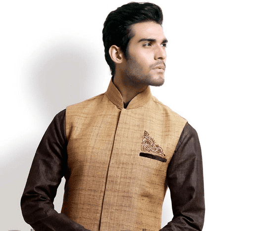 shalwar kameez with waist coat style