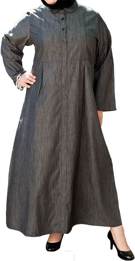 stylish Abayas for Fat Girls