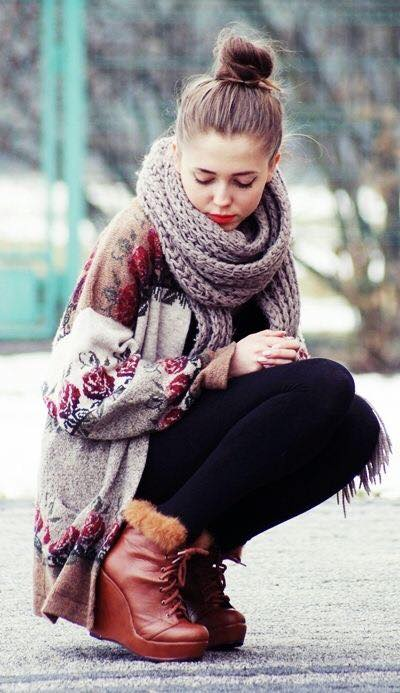 teenage girls winter fashion
