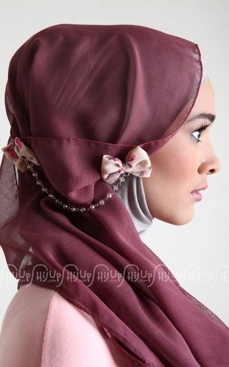 hijab bow pins