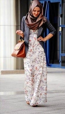 Hijab office wear