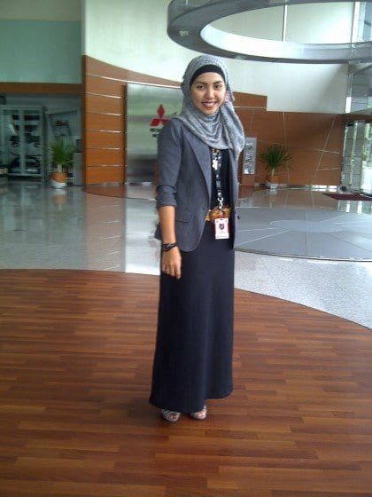 Hijab outfit for work