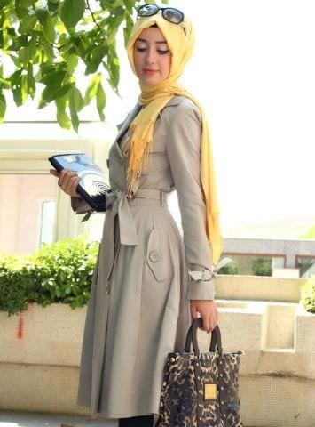 How to dress up in hijab for work