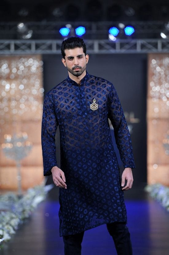 Models in Sherwani