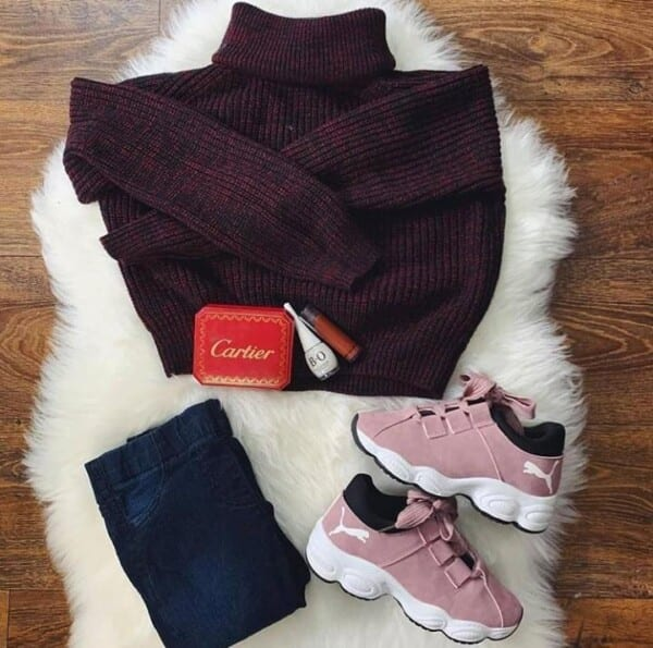 winter outfits for college girls (1)
