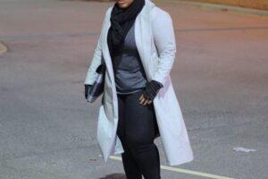 Stylish long coats for plus size women