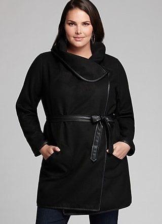 Stylish plus size winter style