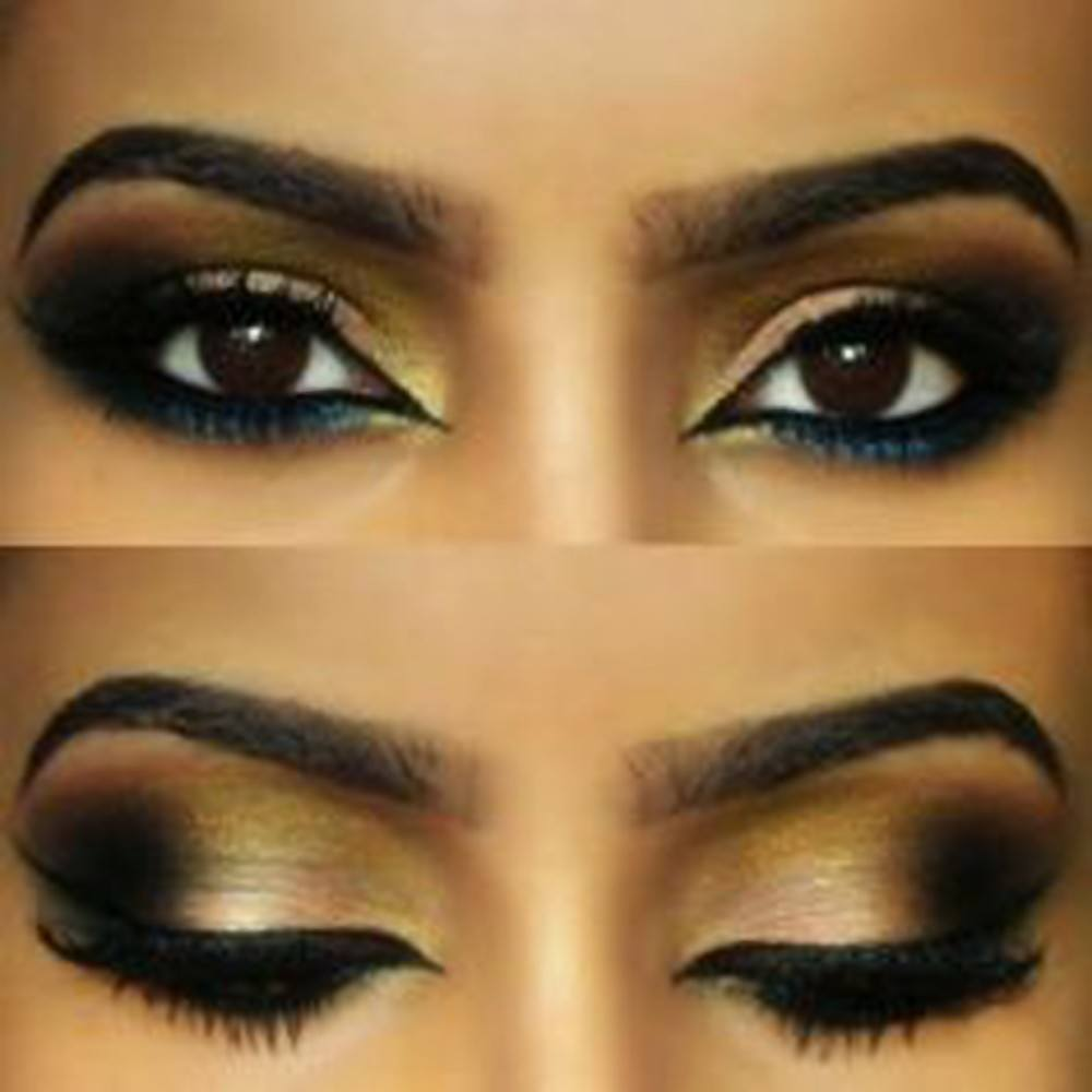 Hot arabian makeup ideas