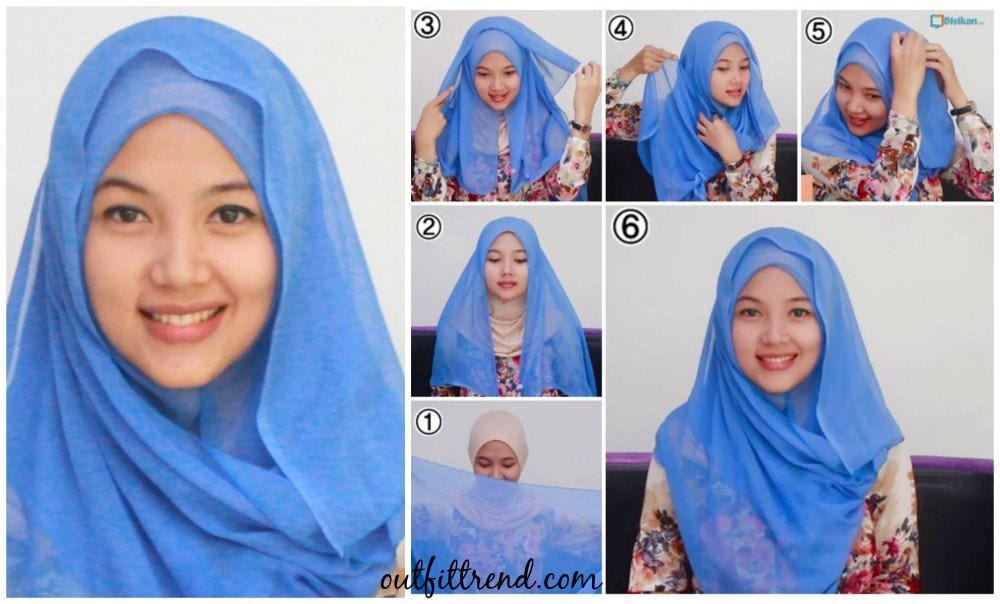 cute hijab paris simple