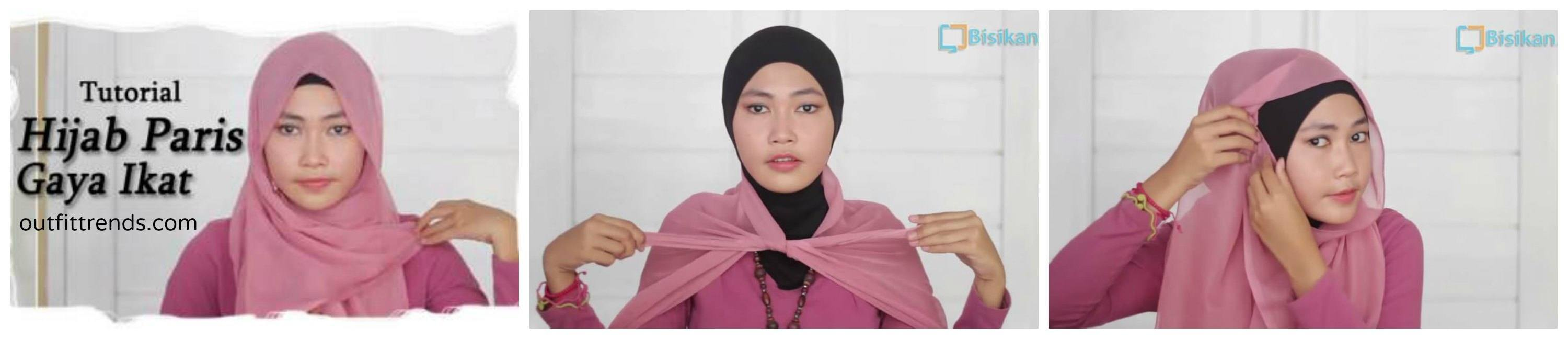 easy paris hijab tutorial