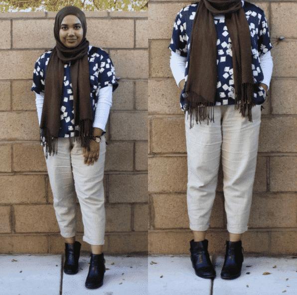 11704557e254 Hijab Office Wear 12 Ideas To Wear Hijab At Work Elegantly