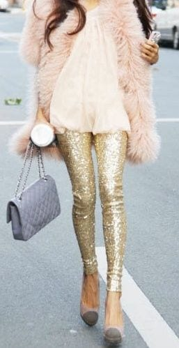943afb68e901b Concentrating on the entire look is necessary. So it covers your outfit to  your shoes. Look for glittering and metallic heels that are must for this  season.