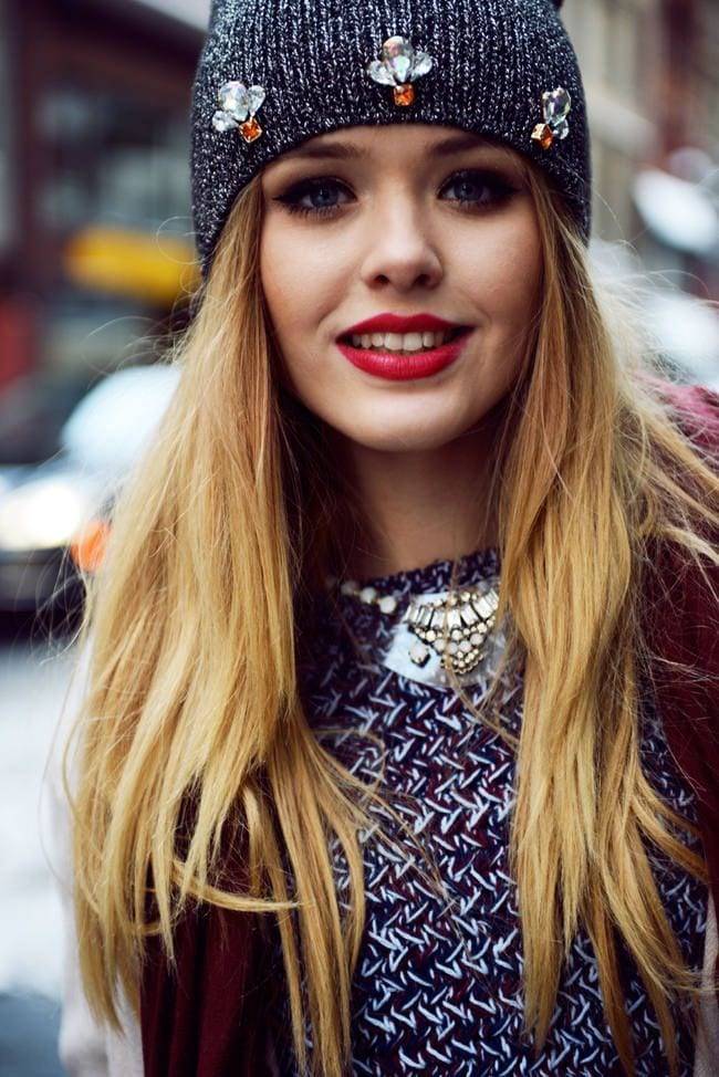 kristina bazan winter DIY