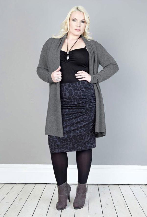 plus size women skirts fashion