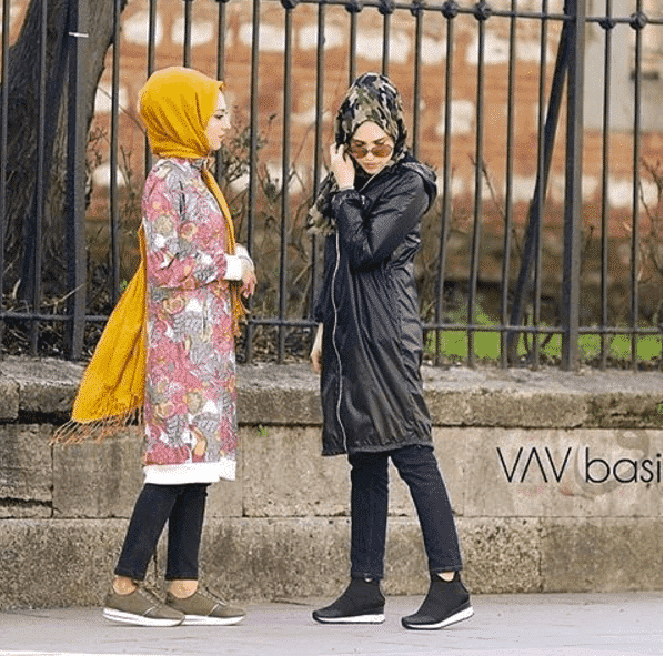 Rainy Birthday Outfit: Hijab Outfits For Teenage Girls