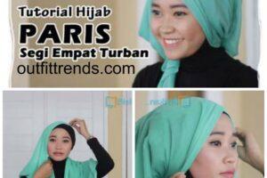 tutorial hijab paris turban