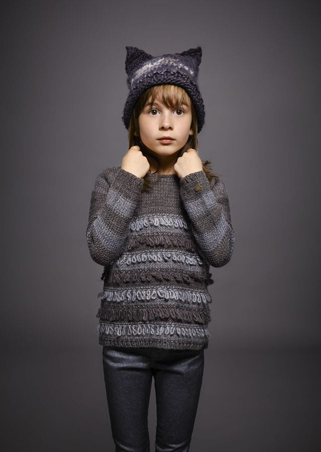 warm and stylish clothes young girls