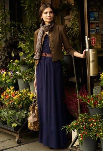 إطلالات مختلفة تجمع الفستان مع الجاكيت - الفستان مع الجاكيت الرسمي