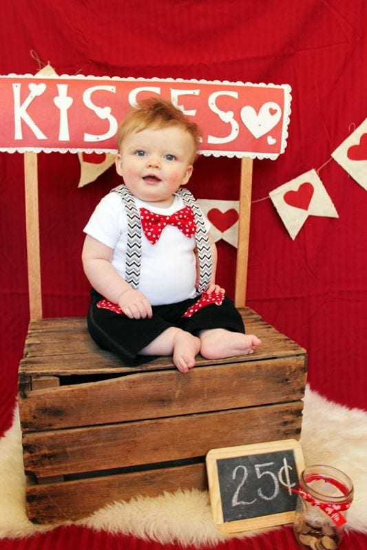 Babies valentine's day Dresses (8)