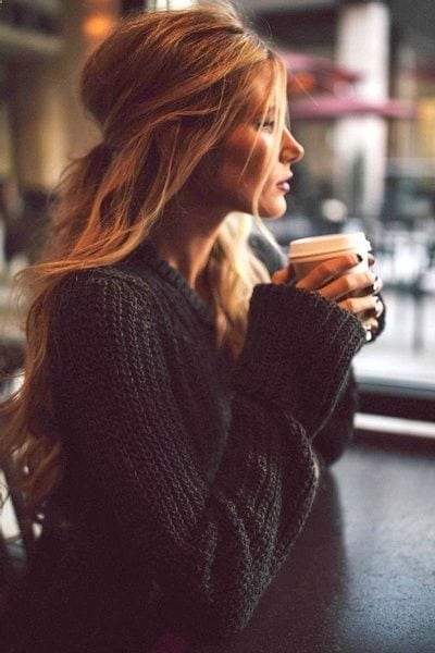 40 Real Women (No Models) Winter Hairstyles to Try in 2018 ... |Girls Winter Hairstyles
