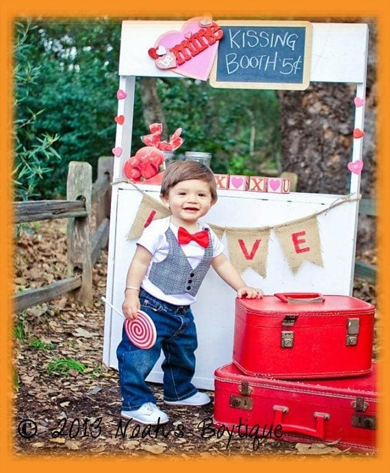 Babies valentine's day Dresses (2)
