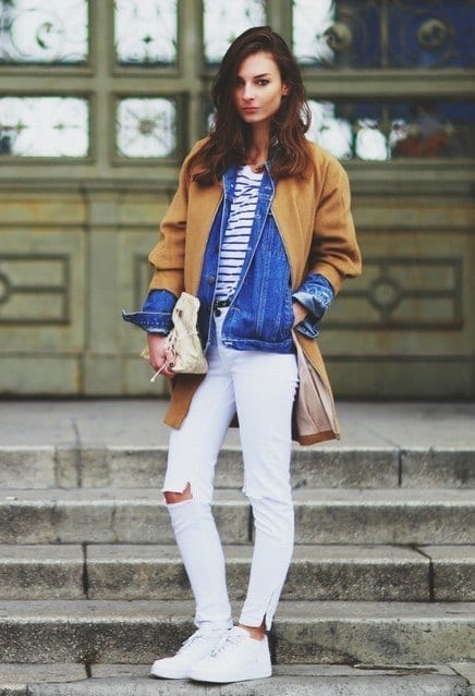 23 Cute Winter Outfits For College High School Girls