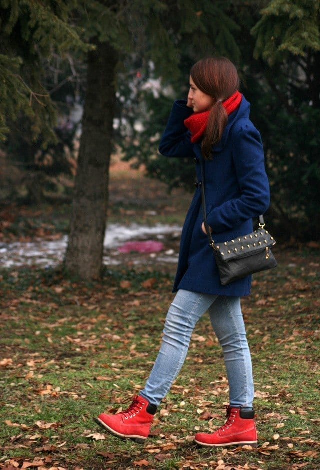 winter outfits with timberland for girls (6)