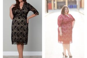 Plus size women Valentines party dresses (1)
