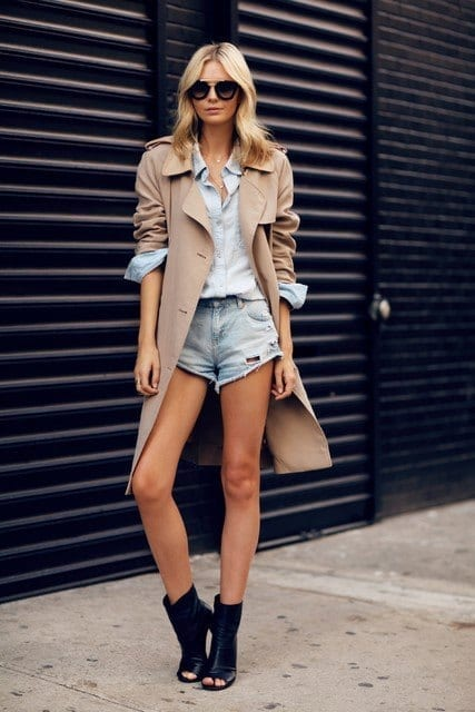outfits to wear with skirts for fall (2)