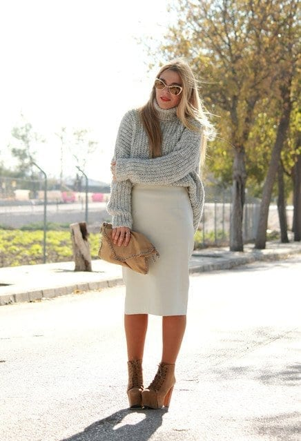 how to wear skirts in winter (1)