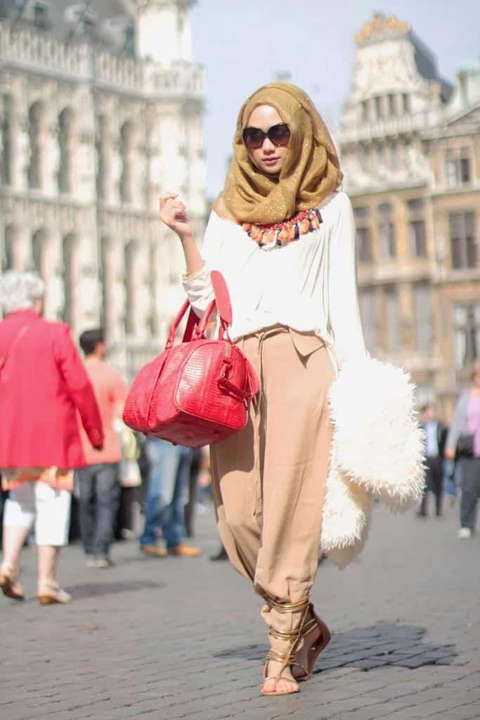 spring hijab fashion style Ideas (5)