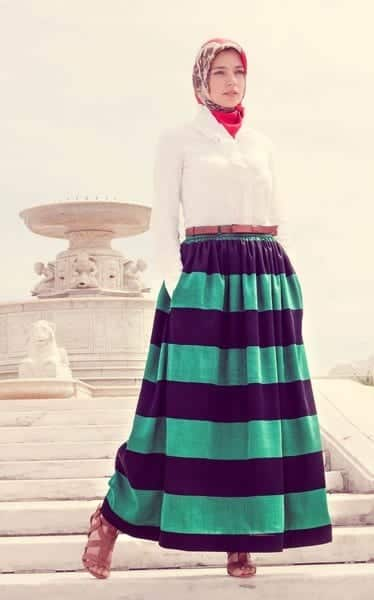 spring hijab fashion style Ideas (4)