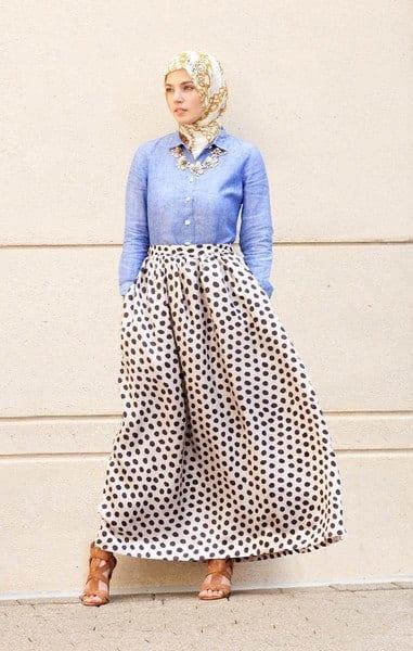 spring hijab fashion style Ideas (3)
