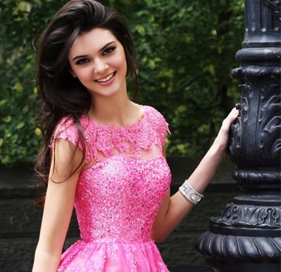 kendall Jenner prom style