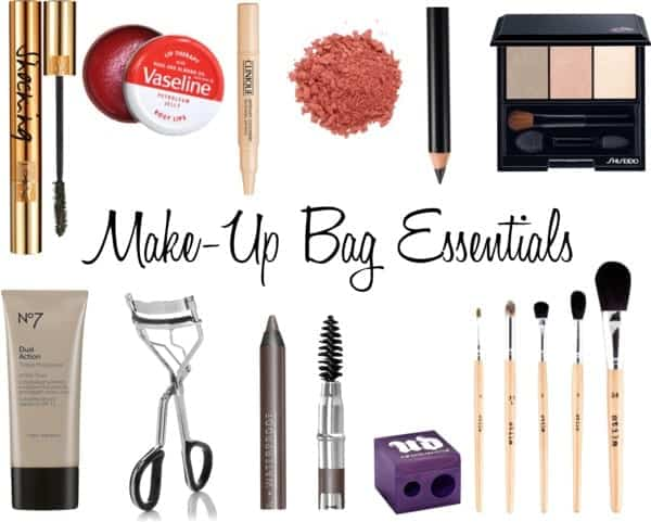 Makup bag essential kit