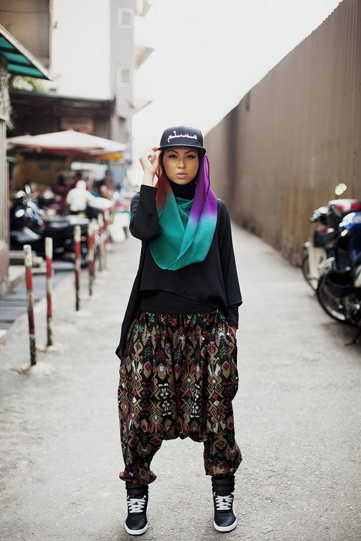 hijab swag style outfits (9)