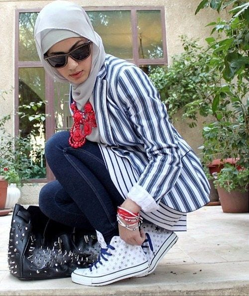 hijab swag style outfits (7)
