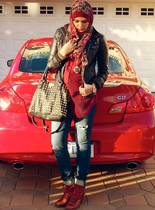 hijab swag style outfits (6)