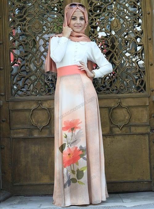 spring hijab fashion style Ideas (9)