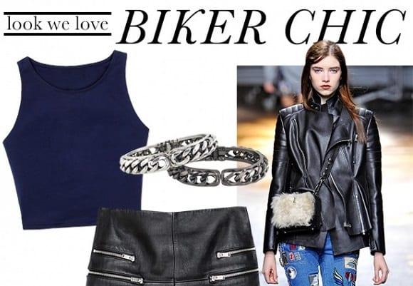 sexy girls biker style