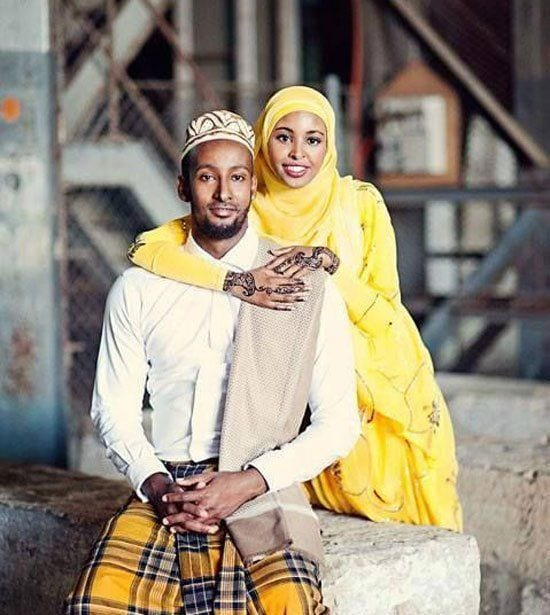 black muslim wedding pics