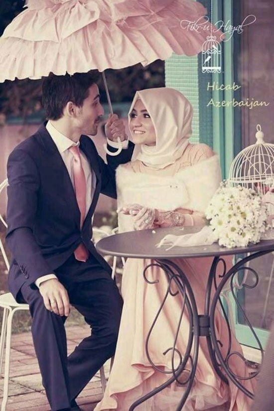 cute muslim couple photos