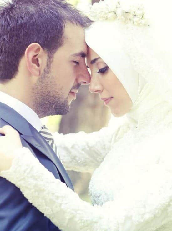muslim romantic couple marriage photos