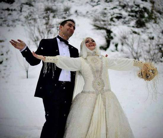 muslim couple honey moon pics